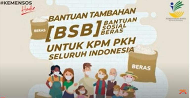 BANTUAN SOSIAL BERAS ( BSB ) BAGI 128 KPM PKH KOTO BANGUN