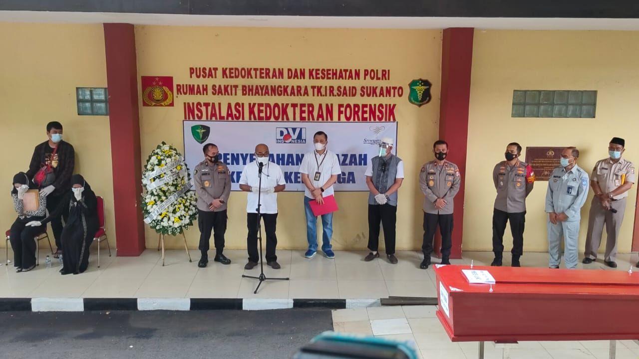 Bertambah 5, Total 34 Korban Sriwijaya Air SJ 182 Berhasil Teridentifikasi